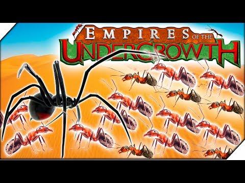 ПАУКИ УБИЙЦЫ и МУРАВЬИ ВОРЫ - Игра Empires of the Undergrowth  прохождение