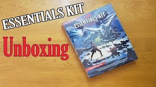 Dungeons and Dragons Essentials Kit Unboxing