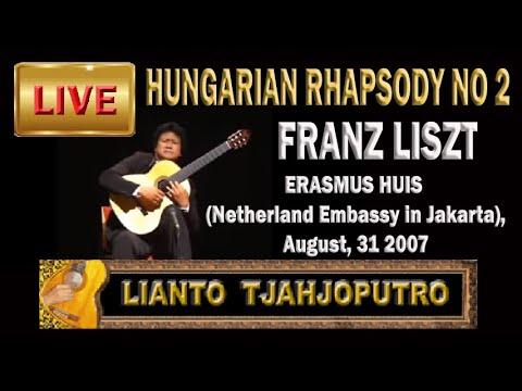 Lianto Tjahjoputro-Hungarian Rhapsody No 2 Liszt - Kazuhito Yamashita