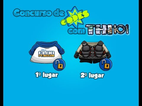 Club Penguin - Concurso de Codes com Thi101