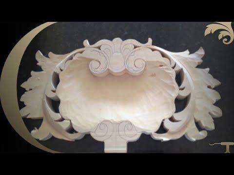 WOOD CARVED PARTS FOR FURNITURE , Woodcarving by Master Wood Carver Alexander Grabovetskiy
