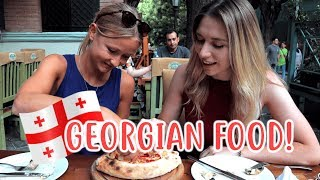 7 Of The BEST FOODS in TBILISI GEORGIA! | Trying GEORGIAN FOOD 🇬🇪