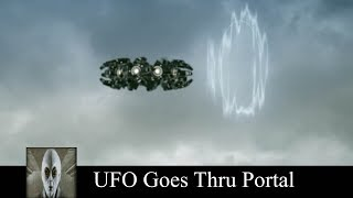 UFO 2018 Goes Thru Portal And UFO At The Airport
