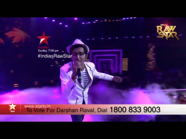 India's Raw Star Episode 13: Vote for Darshan