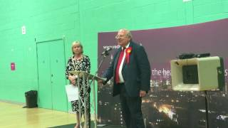 Labour's Mike Gapes increases his majority in Ilford South.