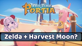 My Time at Portia Review (Milky Reviews)