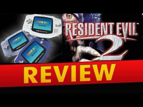 Review BR do Resident Evil 2 de GameBoy Advance