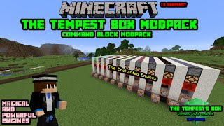 [Outdated] Minecraft | The Tempest Box | 1.9 Command Block Modpack Showcase