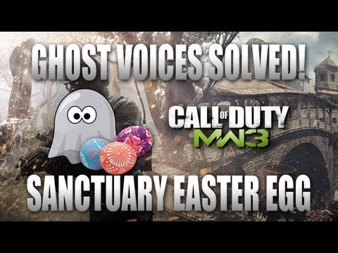 MW3: Ghost Voices Easter Egg On Sanctuary (Solved & Explained)