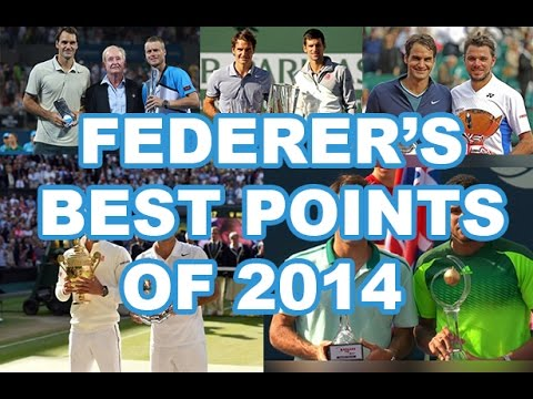 Roger Federer - Best Points Of 2014 [HD]