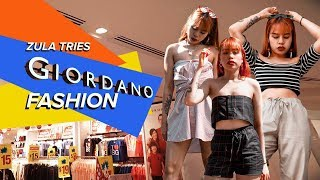 ZULA Tries: Making GIORDANO Fashionable | EP 13