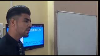 A Presentation on Social Media at Anamika's English Academy