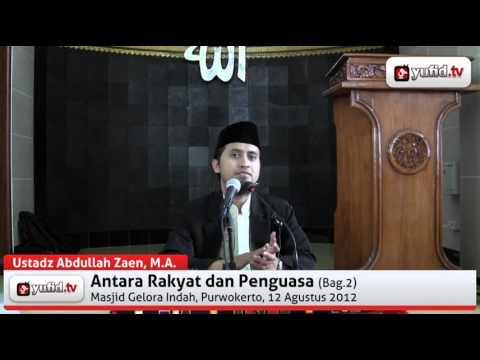 Perbedaan Pendapat Dalam Agama  - Ustadz Abdullah Zaen