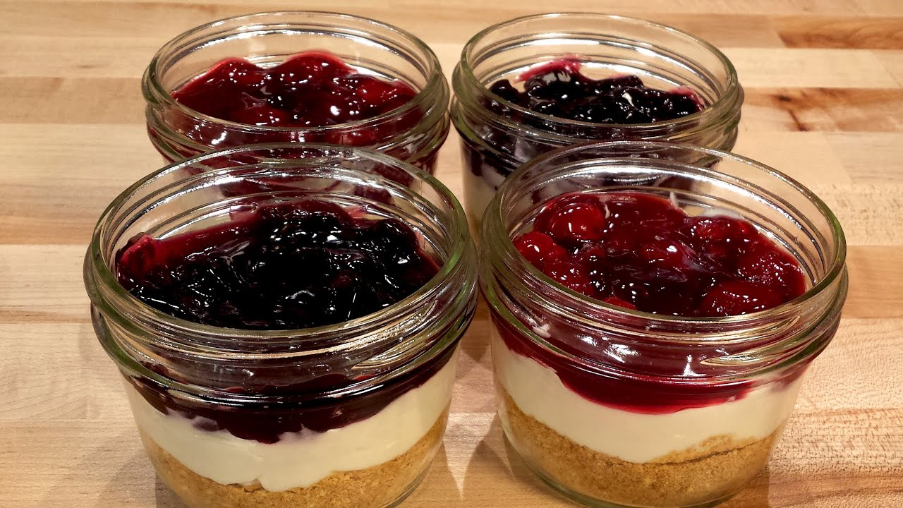 No Bake Cheesecake in a Jar: Cookies Cupcakes and Cardio Recipe ...