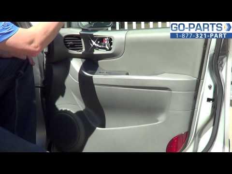 Replace 2001-2006 Hyundai Santa Fe Front Door Panel. How to Change