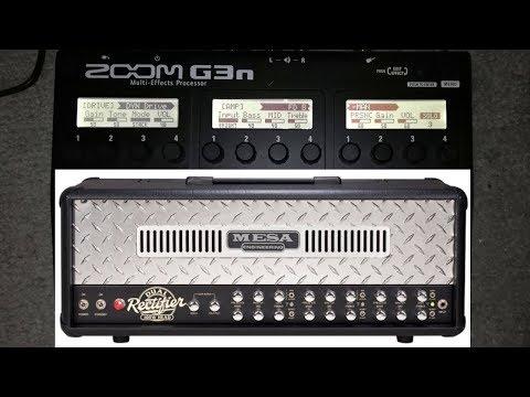 🤟🤟 Old School Metal Fan - Testing Zoom G3n Rectifier Sound 🤟🤟