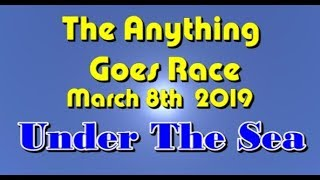 Anything Goes Race 2019  3 8 Under The sea