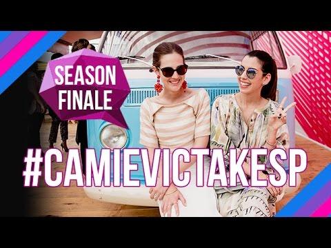 #CamieVicTakeSP - Season Finale / Camila Coutinho e Vic Ceridono mostram os bastidores do SPFW