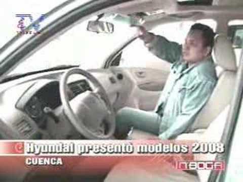 Hyundai presentó modelos 2008