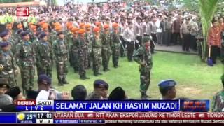 Prosesi Pemakaman KH Hasyim Muzadi Di Ponpes Al-Hikam # 2