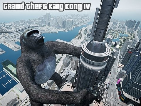 GTA4 DEVIL WARRIOR VS KING KONG