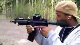 drastic rocks the ar 15 pistol, Olympic Arms K23P A3TC
