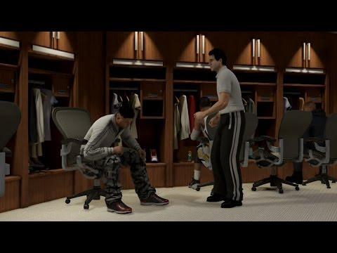 NBA 2K14 PS4 MyCareer - I'm Injured x Feeding Paul George