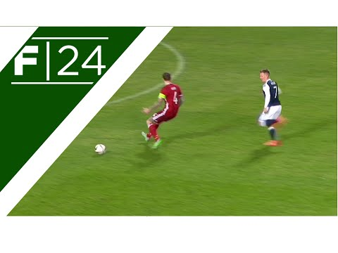 Awful Agger mistake gives Scotland the lead