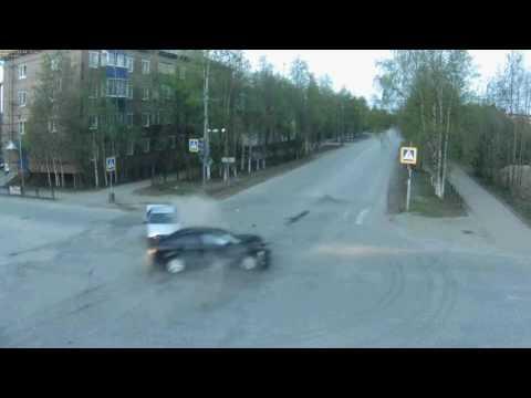 ДТП на перекрестке — CAM2