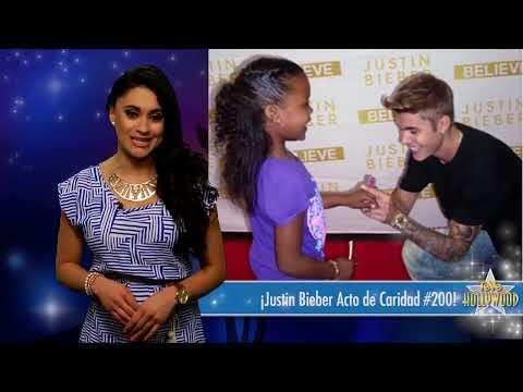 ¡Justin Bieber Acto de Caridad #200!