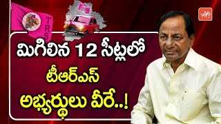 KCR Green Signal to Pending 12 TRS MLA Candidates | Telangana Elections