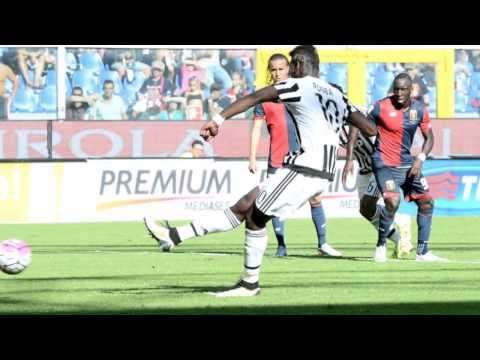 Genoa Juventus 0-2 Gol Pogba Zuliani 20.09.2015