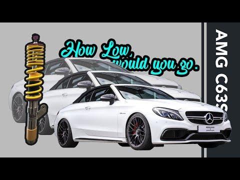 Mercedes-Benz W205 C63S Cabrio | variable Höhe mit Federn von KW | SCHAWE