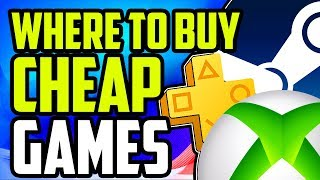 Where To Buy Cheap Games Online 🎮 | Best Website For Cheap Games (PC/PS4/Xbox)