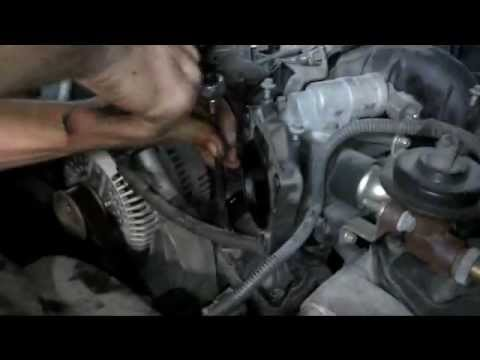 DIY Ford ExplorerThermostat Housing installation coolant leak