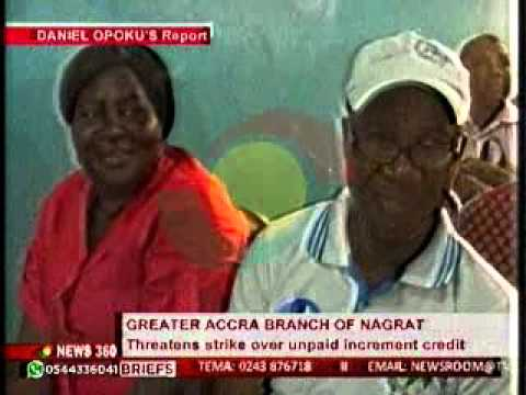 News360 - Greater Accra branch of NAGRAT threatens strike action - 28/9/2015