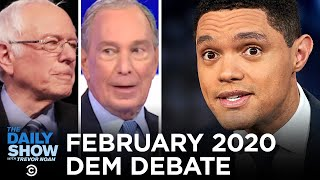 February 2020 Democratic Debate in South Carolina | The Daily Show