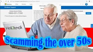 Scamming the over 50s