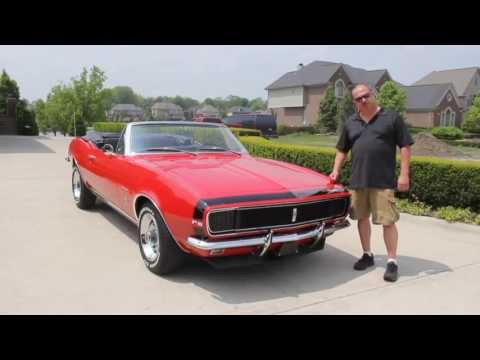 1967 Chevy Camaro RS Convertible Classic Muscle Car for Sale in MI Vanguard Motor Sales
