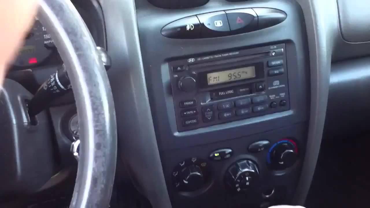 2001 Hyundai Santa Fe Youtube