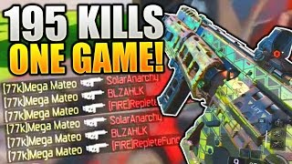 Call Of Duty Black Ops 3 - 195 KILLS IN ONE GAME WITH THE HVK-30! w/Class Setup! (BO3 GAMEPLAY)