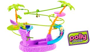 Polly Pocket Piscina e Tirolesa da Polly Playset