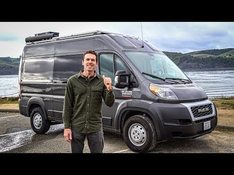 The van is ROAD TRIP READY | 2019 Promaster camper van tour