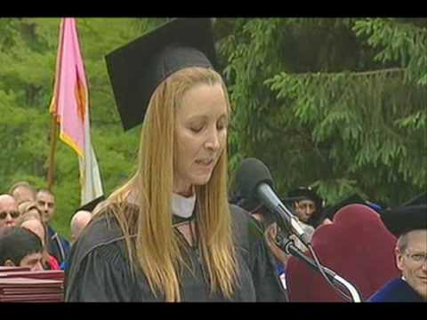 Lisa Kudrow Commencement Address 2010