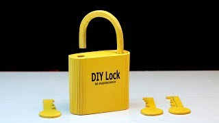 How to make a lock with key at home