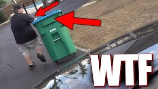 SHE TRIED TO RUN ME OVER!!!