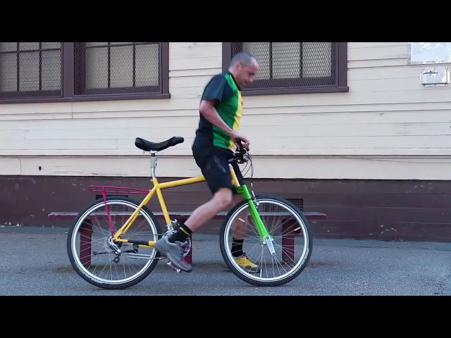 The BUNI - Bike to Uni in under 2 min
