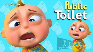 TooToo Boy - Public Toilet Episode | Cartoon Animation For Children | Videogyan Kids Shows