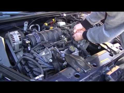 How to change a thermostat on a GM 3800. the fastest way