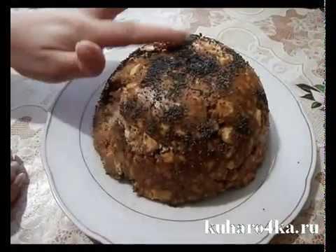 """Пирог """"Муравейник"""". Самый лёгкий рецепт"""